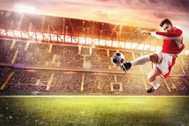 Unique sports bar and home bedrooms football players wallpaper murals
